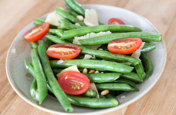 Bean & Pinenut Salad