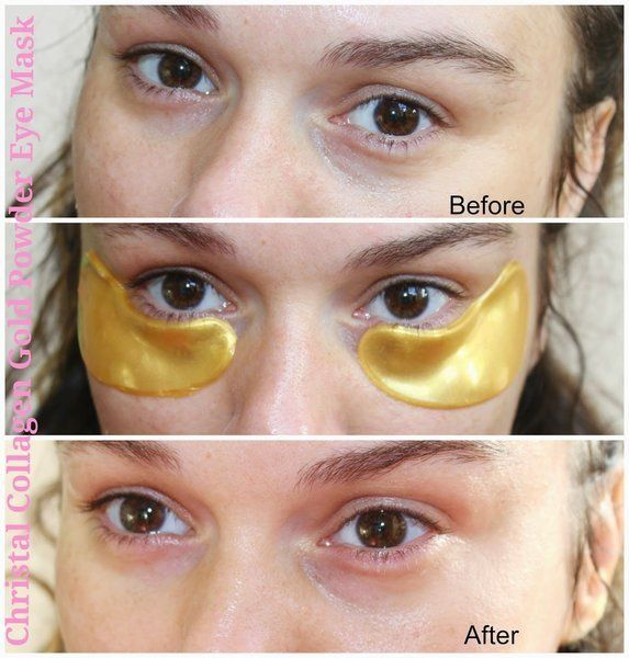10/20 Pair Collagen GOLD Dark Circle Gel Patch