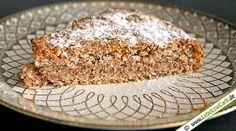 Wunderbar einfacher Low Carb Mandelkuchen. Nur 3 Zutaten und ein wenig Zeit und…