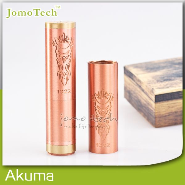 >> Click to Buy << Mechanical Mod Akuma Mod Red Copper Box Mod E Cig Mod 3 Tube Body for 18350 18500 18650 Battery Fit ALL RTA,RBA,RDA Jomo-151 #Affiliate