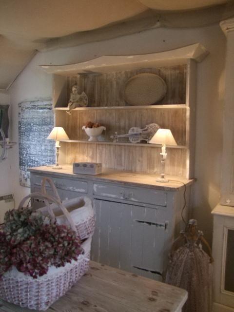 old kitchen dresser