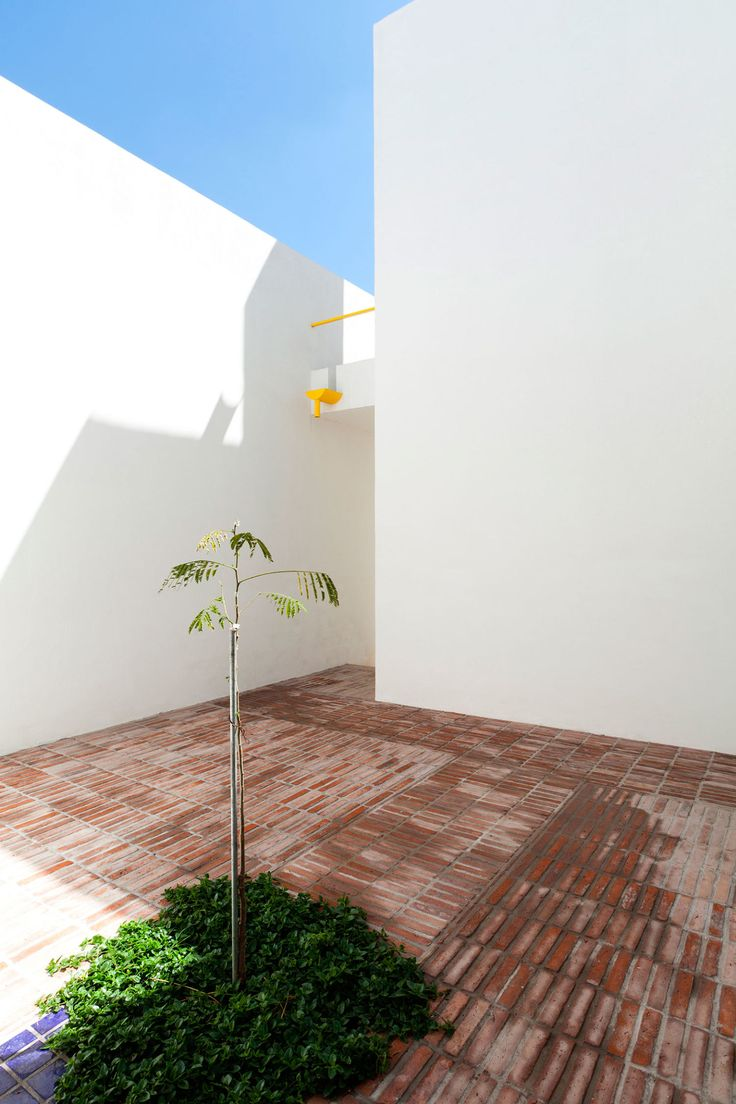 Located in an environment dominated by homes which have been built and occupied by their owners, between the Guadalajara City limits and the rural landscape, this house meets the needs of a small family with an active social life.  The design strateg...