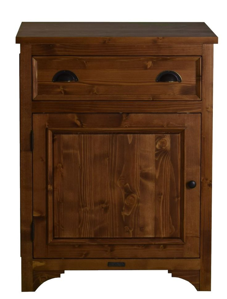 MMW A3 +1F B 70 cm széles alsó szekrény tele ajtó balos + 1 fiók | My Mood Wood
