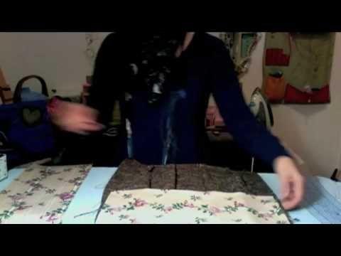 Come realizzare una borsa in tessuto ^_^ - YouTube
