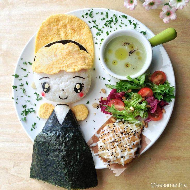 226 besten Kids Food Art Bilder auf Pinterest | Frühstück, Kawaii ...