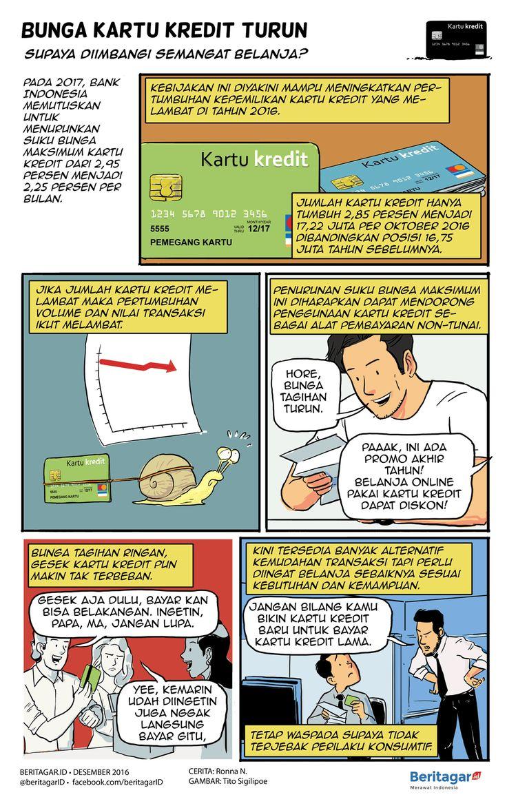 BERHATI-HATILAH | Bijaklah dalam menggunakan kartu kredit. Jangan terlena kemudahan di depan lalu terbelit masalah di kemudian hari.