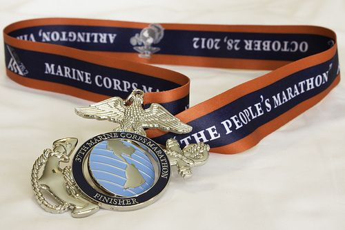 Marine Corps Marathon Medal | Which one do you prefer? (Marine Corp Marathon Medal) - Canon Digital ...