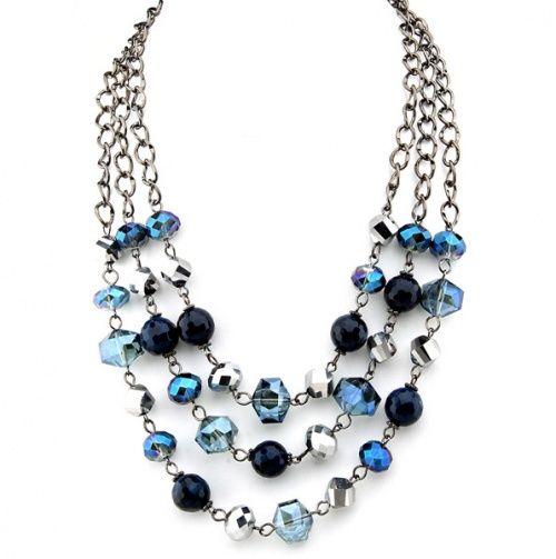 Multi Strand Bead Necklace