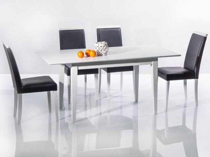 Egyszerűen bájos! A Natan étkezőasztalhoz hétköznapokon, és ünnepnapokon is különleges érzés leülni. Semleges fehér színe miatt nagyszerűen díszíthető, szinte minden szék, és abrosz megy hozzá! A képen stílusos CD-77 fekete-fehér székek társaságában látható, melyeket itt tudsz megtekinteni. (http://www.signalbutor.hu/…/sz…/favazas-szekek/-p273257.html) A konyha,az ebédlő, vagy a nappali dísze. A Natan étkezőasztalt itt nézheted meg…