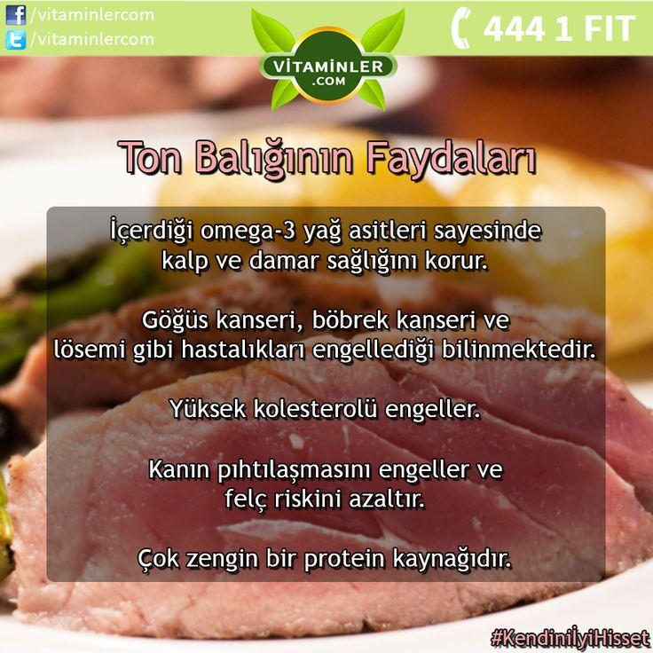 Ton balığının faydalarını tüm dostlarınızla paylaşın! Tüm üyelerimize iyi haftalar dileriz. #vitaminlercom #vitamin #sağlık #sağlıklıyaşam #enerji #healthy #mineral #omega3 #multivitamin #antioksidan #cvitamini #probiyotik #balıkyağı #bitkisel #ginseng #halsizlik #bağışıklık #depresyon #kolesterol #stres #diabet #uyku #metabolizma #tonbalığı #tuna #fish #fishoil