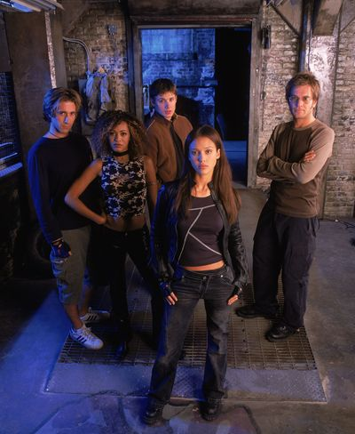 Dark Angel-- Jessica Alba & Michael Weatherly. I can't believe how much Jensen Ackles has changed.