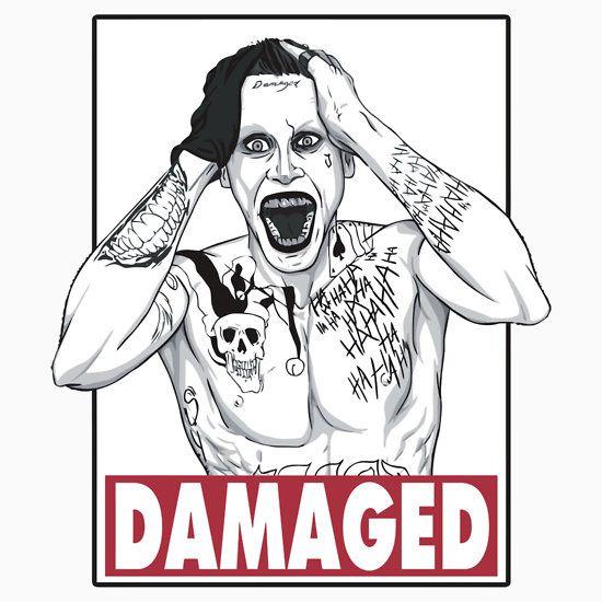 Joker - Damaged