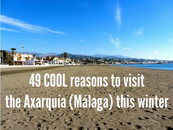 49 COOL reasons to visit the Axarquía (Málaga) this winter via www.eastofmalaga.net @eastofmalaga
