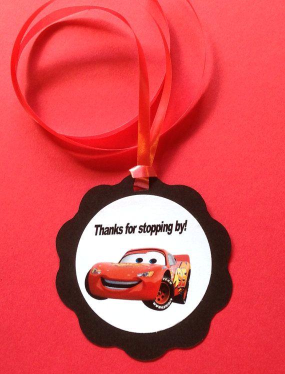 Disney CARS Birthday Party/Favor Tags