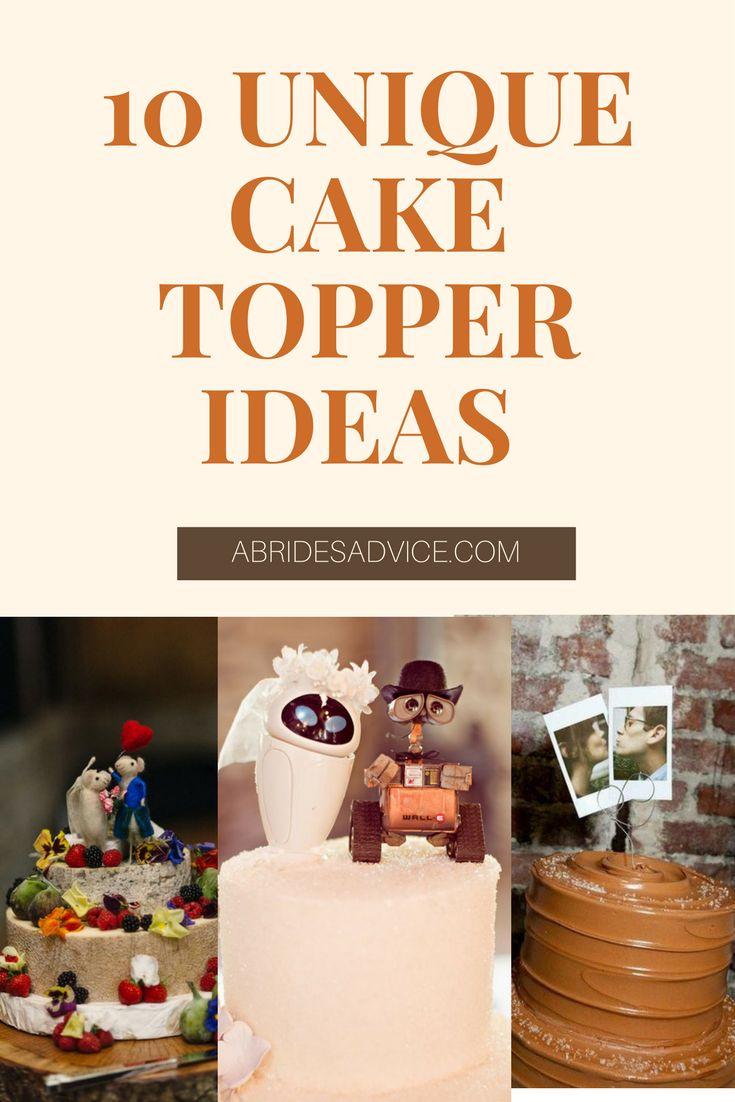 Wedding Cake Toppers | Unique Wedding Cakes | Wedding Cake Ideas | DIY Wedding Cake Topper