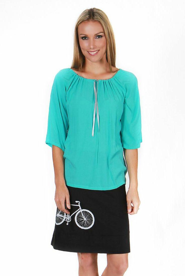 Ligar Bay Top With Polka Bike Skirt