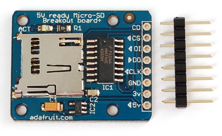 Interface Adruino with SD