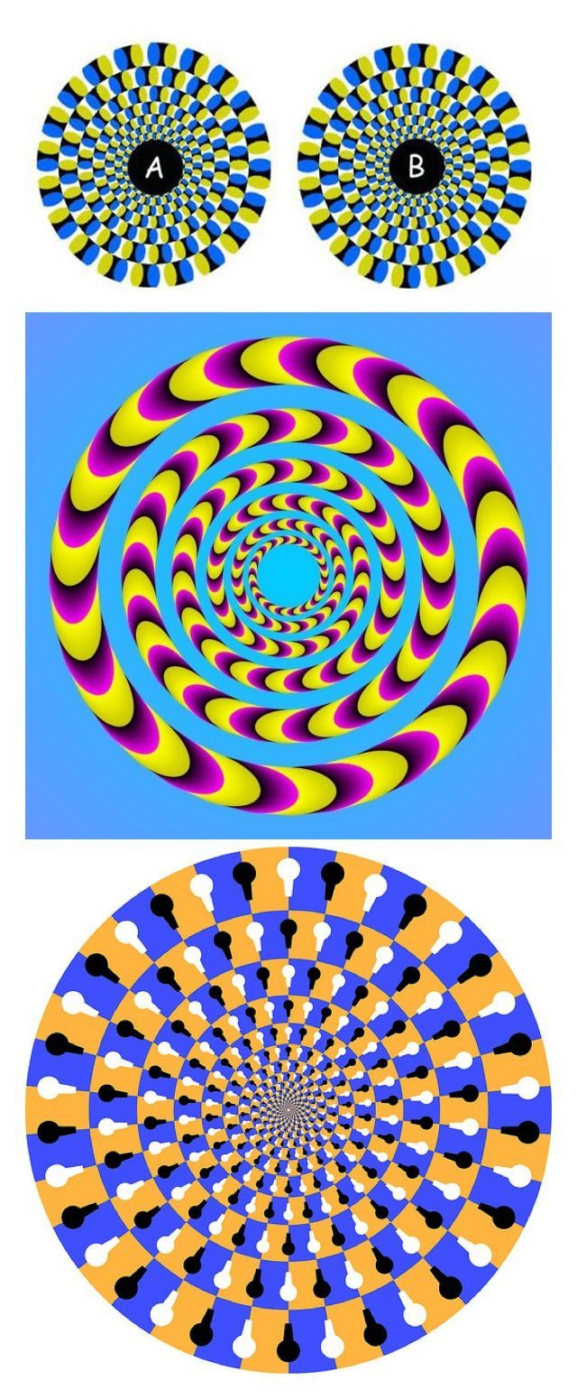 Spinning Illusion #Optical #Illusions #ShermanFinancialGroup
