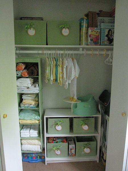 Top 25 best baby closet organization ideas on pinterest nursery closet organization baby - Keep your stuff organized with bedroom closet organizers ...