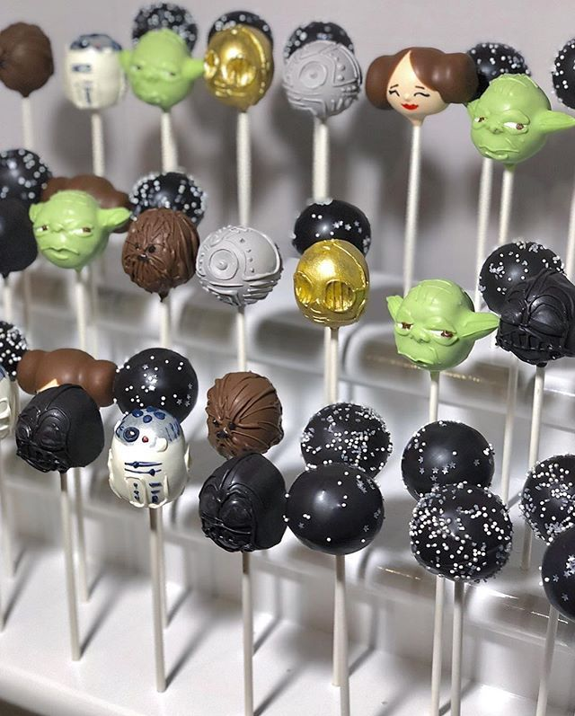 May The 4th Be With You Star Wars Cake Pops With Images Star