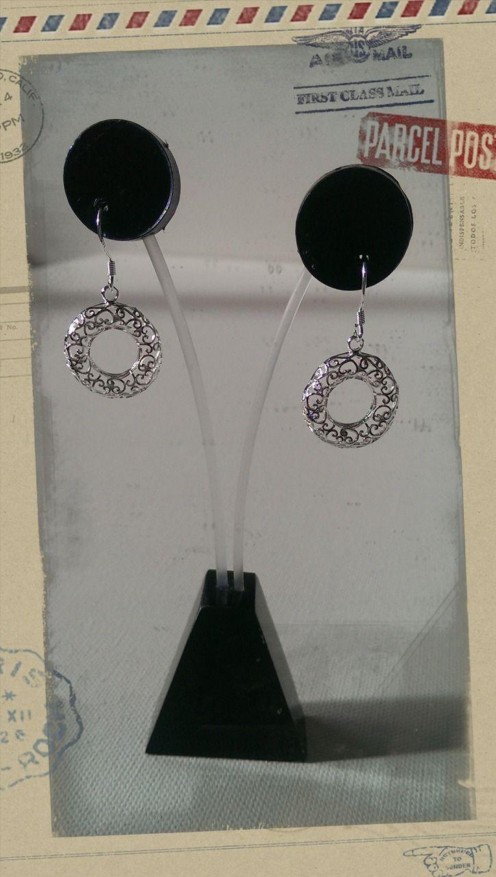 Popsie Ltd - Hollow Koru Heart Pendant Earrings, $12.50 (http://www.popsie.co.nz/hollow-koru-heart-pendant-earrings/)