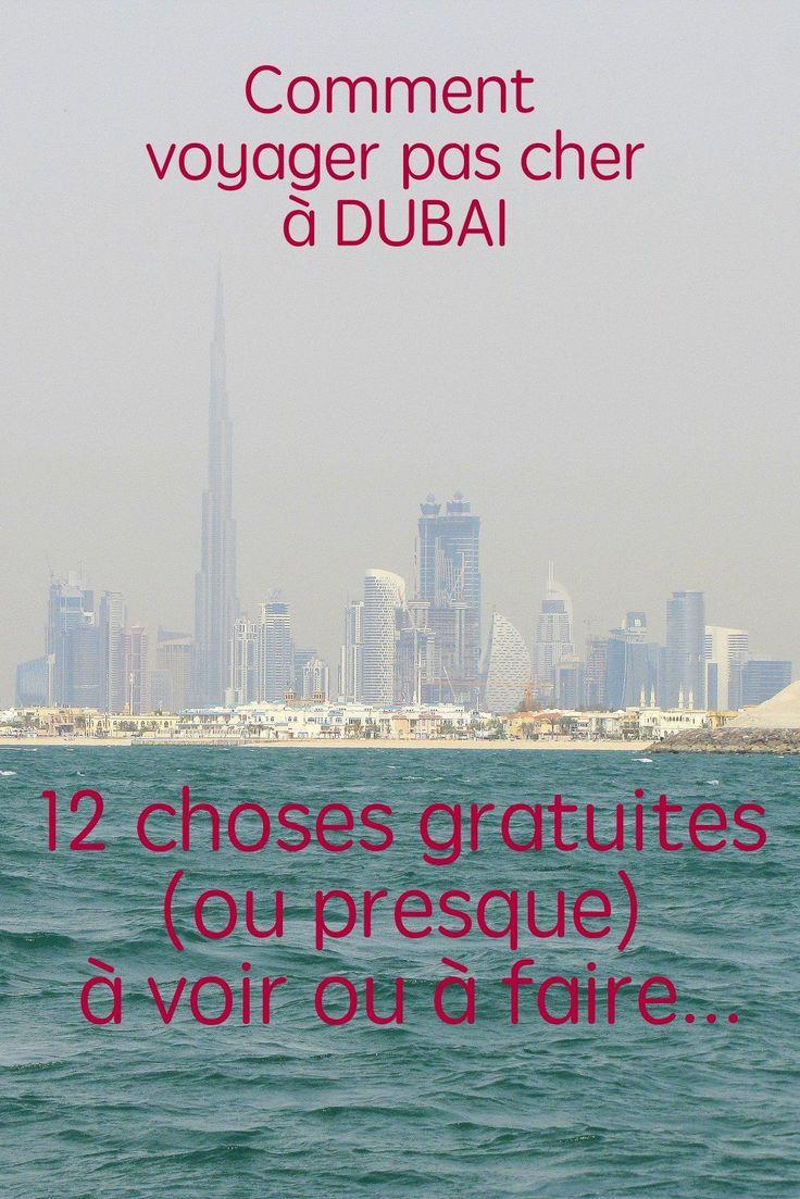 Contrairement aux idées reçues, c'est possible de voyager pas cher à Dubaï. Voilà une liste de choses à voir gratuites (ou presque) et mes conseils pour économiser sur l'hôtel ou l'avion