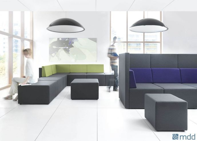 LOUNGE AREA - Banquettes modulaires - MDD