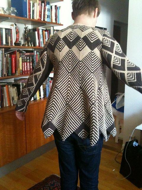 Dou's Trixie (Harlequin swing coat pattern)