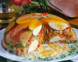 Lajos Mari konyhája - Húsvéti zöldséges tojásaszpik