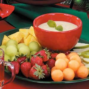Honey-Lime Fruit Dip Recipe