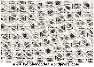 Vainicas Embroidery | Amostras em bainha aberta | Bordados da Lygia