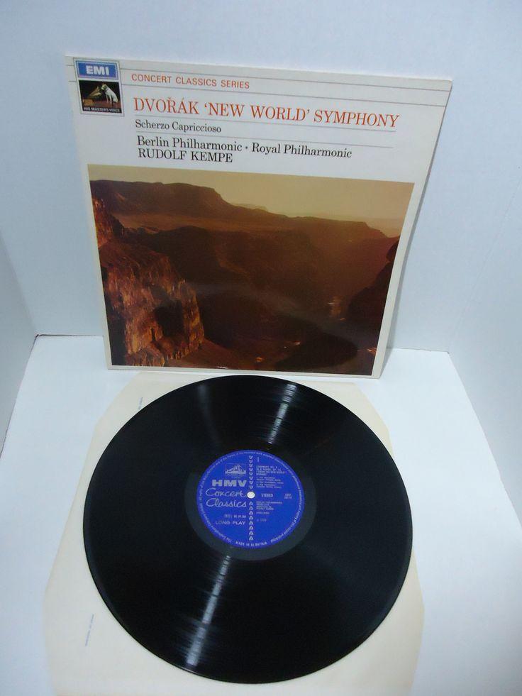 Dvořák, Berlin Philharmonic Royal Philharmonic, Rudolf Kempe – 'New World' Symphony/Scherzo Capriccioso [Import]