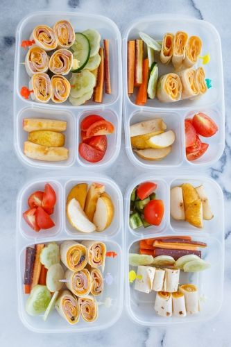 Healthy school lunch ideas   packed in #EasyLunchboxes