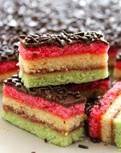 When planning my Christmas baking, these Italian rainbow cookies are one of my very first to make. I bake them two weeks before Christmas as this allows the flavors to mellow and both the raspberry and apricot jams layered between the sponge cakes keeps these dense rainbow cookies moist and packed with flavor. If you love … … Continue reading →