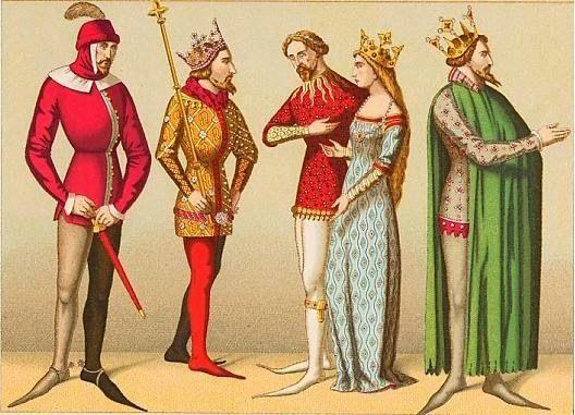 De Reyes y Juglares, Moda en la Edad Media