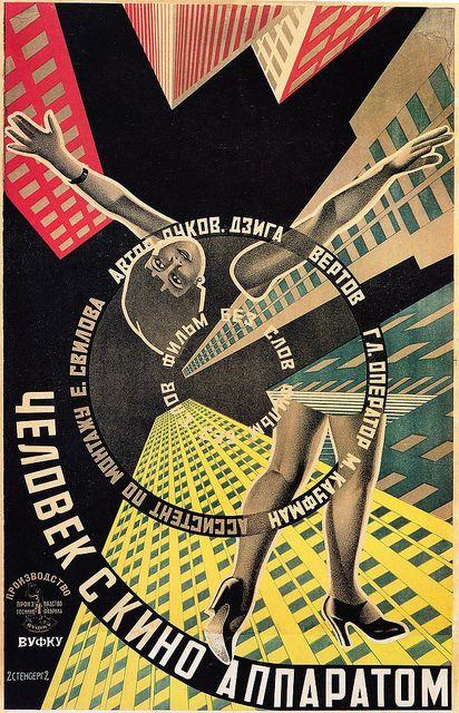 Georgi & Vladimir Stenberg - The Man with the Movie Camera, 1929