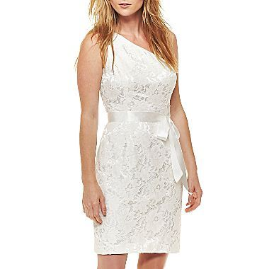 J c penney white dress zombie