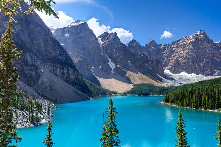 Canada Photograph - Moraine Lake - Banff National Park by Matt Dobson