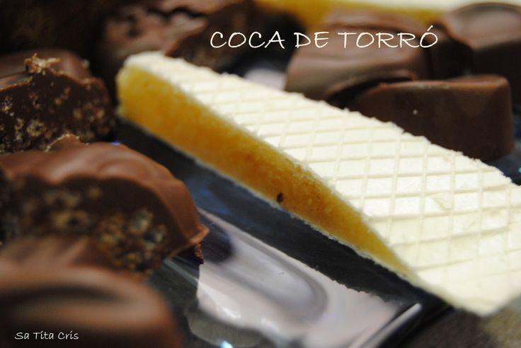 SA TITA CRIS: COCA DE TURRÓN (COCA DE TORRÓ)