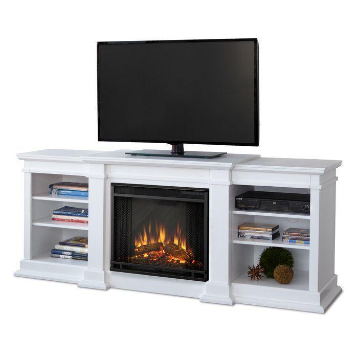 Fresno 72 Tv Stand With Fireplace Somine Elektrik