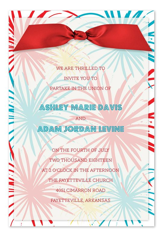 102 best 4th of July wedding ideas images on Pinterest July