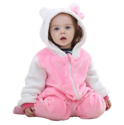 Pink KT Jumpsuit Baby Rompers **FREE+SHIPPING**