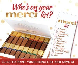 Merci - FREE Merci Chocolate List & Coupon - http://www.momscouponbinder.com/merci-free-merci-chocolate-list-coupon/ #coupon #couponing #couponcommunity