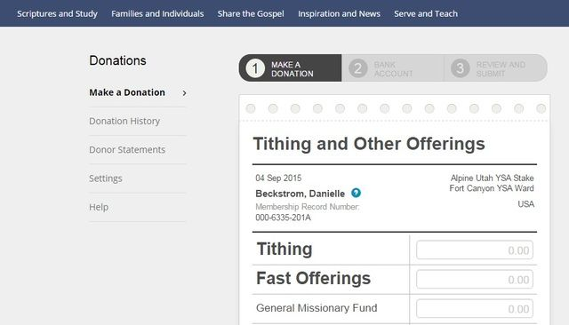 It's official. All members in wards and branches throughout the United States can now pay tithing online. Find out how to do it here.
