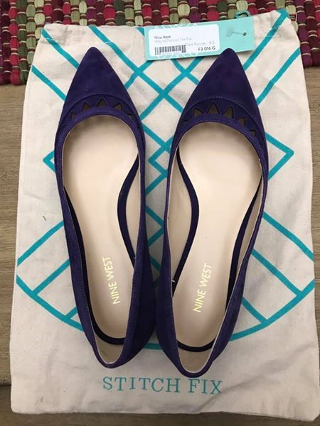 NINE WEST Alleyne Pointed Toe Flat from Stitch Fix. https://www.stitchfix.com/referral/4292370