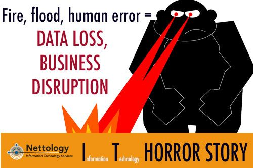 IT disasters caused by fire, floods, hurricanes, employee errors – it can't happen to my business. But what if it does? https://www.nettology.net/ebook/disaster-survival-guide/