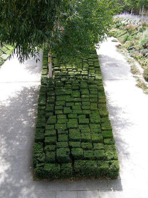 Um jardim para cuidar: Arbustos talhados ou o encanto da topiaria..