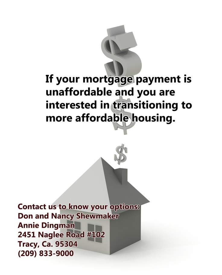 If Your Mortgage Payment Is Unaffordable And You Are Interested In