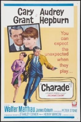 Charade Movie Poster 24inx36in