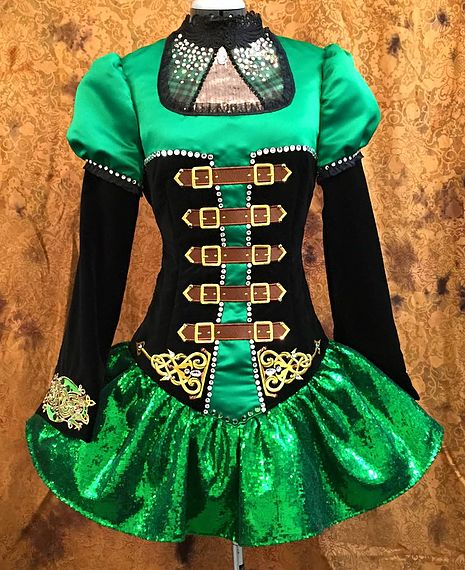 craggane designs irish dance dresses more - Halloween Feis